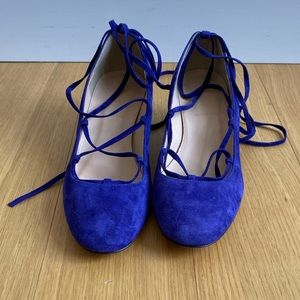 NWOT j crew women low heels strapped shoes 8